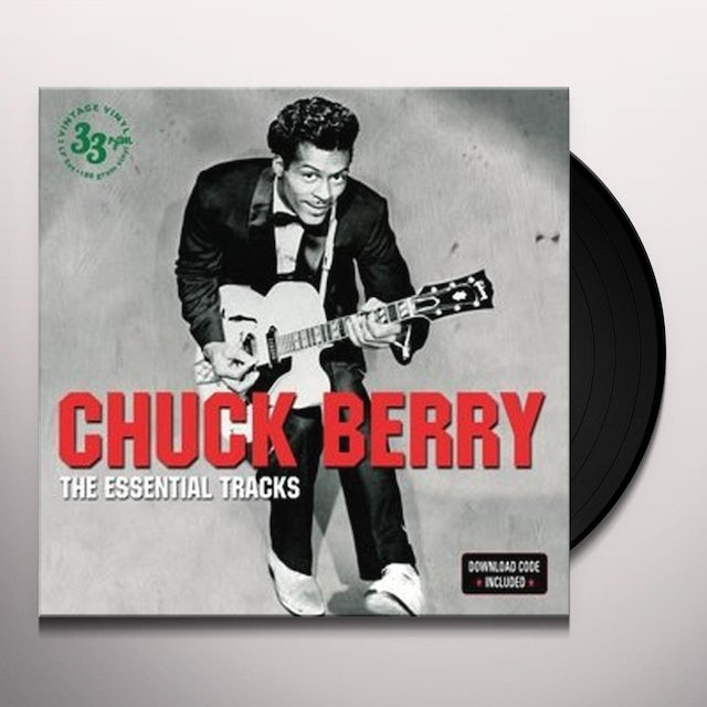 Chuck Berry ESSENTIAL TRACKS Vinyl Record - UK Release