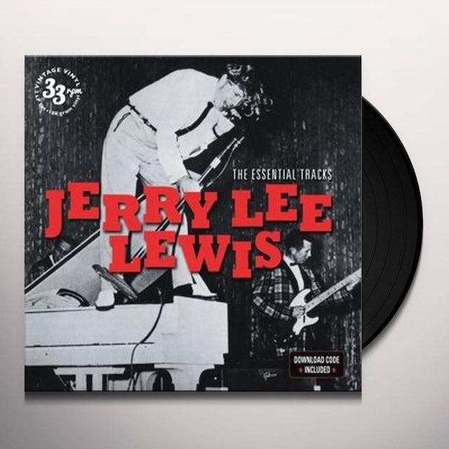 Jerry Lee Lewis ESSENTIAL TRACKS Vinyl Record - UK Release