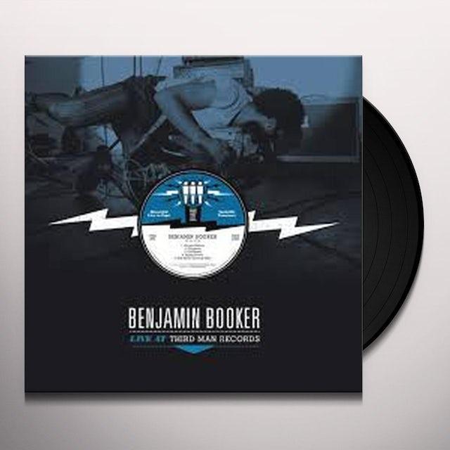 Benjamin Booker LIVE AT THIRD MAN RECORDS Vinyl Record