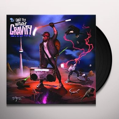 K-Os CAN'T FLY WITHOUT GRAVITY Vinyl Record