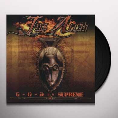 Jus Allah G-O-D / SUPREME Vinyl Record