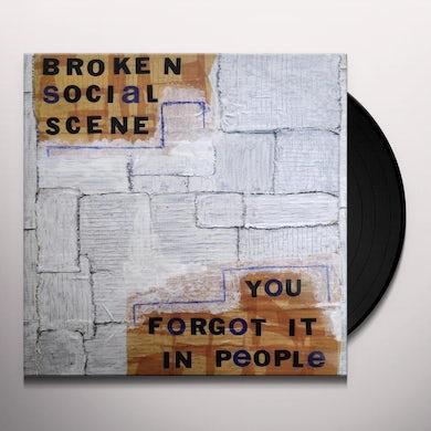 Broken Social Scene YOU FORGOT IT IN PEOPLE Vinyl Record