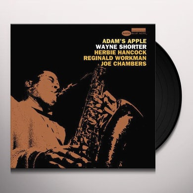 Wayne Shorter ADAM'S APPLE Vinyl Record - 180 Gram Pressing