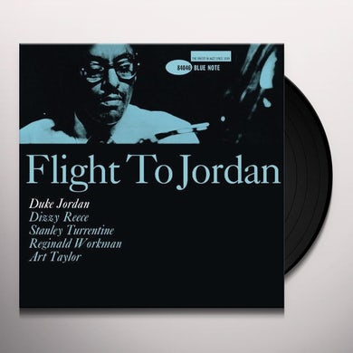 Duke Jordan FLIGHT TO JORDAN Vinyl Record