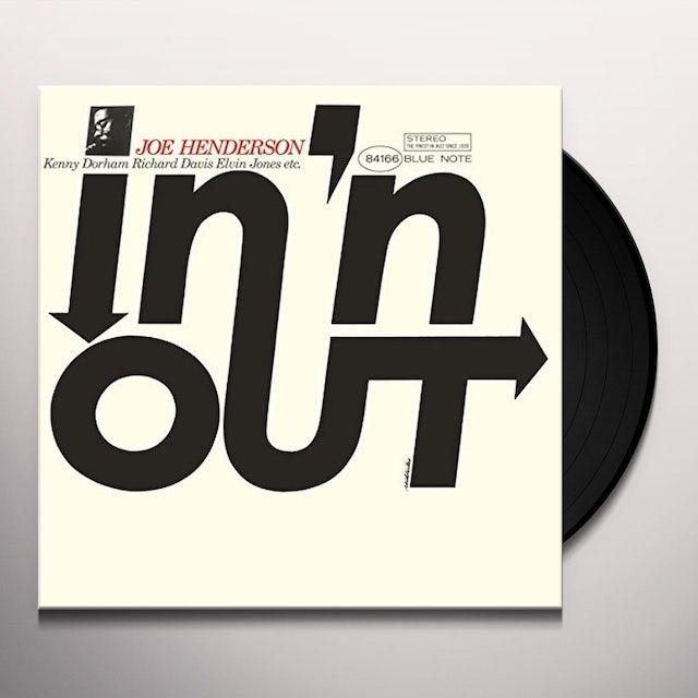 Joe Henderson IN N OUT Vinyl Record
