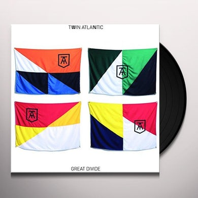 Twin Atlantic GREAT DIVIDE Vinyl Record - UK Release