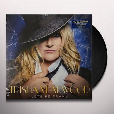 Trisha Yearwood LET'S BE FRANK Vinyl Record