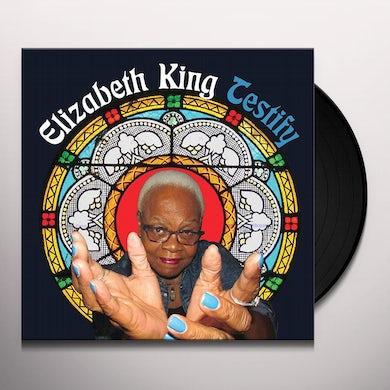 Elizabeth King TESTIFY / A LONG JOURNEY Vinyl Record