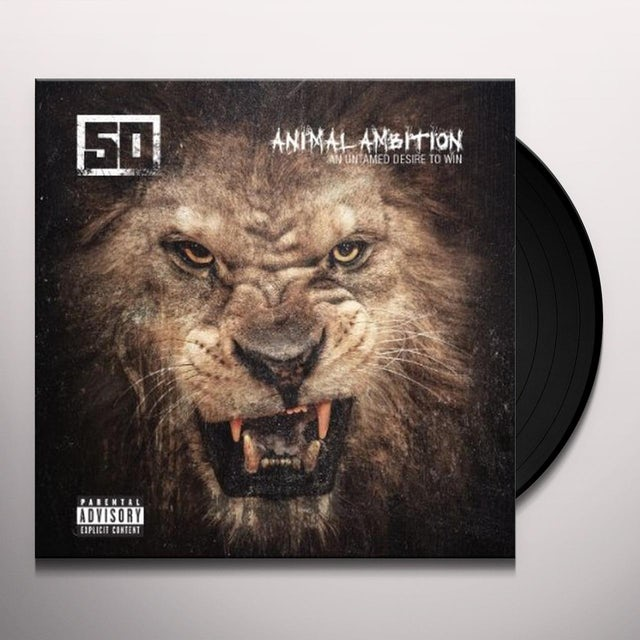 50 Cent ANIMAL AMBITION: AN UNTAMED DESIRE TO WIN Vinyl Record