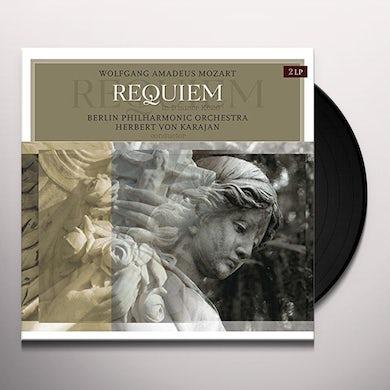 BERLIN PHILHARMONIC ORCHESTRA / WIENER SINGVEREIN MOZART: REQUIEM IN D MINOR K626 Vinyl Record