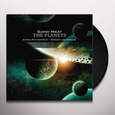 HOLST: PLANETS / SUITE FOR ORCH & FEMALE CHORUS Vinyl Record