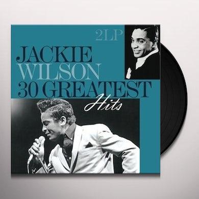 Jackie Wilson 30 GREATEST HITS Vinyl Record