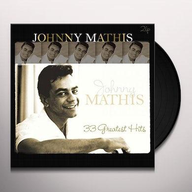 Johnny Mathis 33 GREATEST HITS Vinyl Record