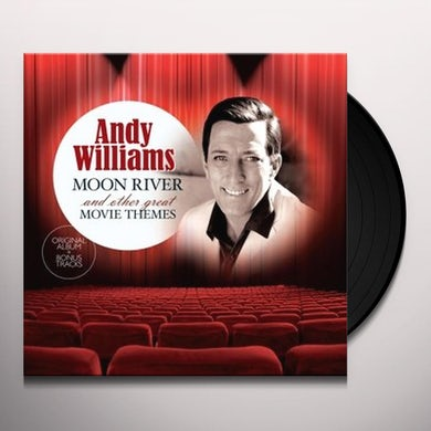Andy Williams MOON RIVER & OTHER GREAT MOVIE THEMES Vinyl Record