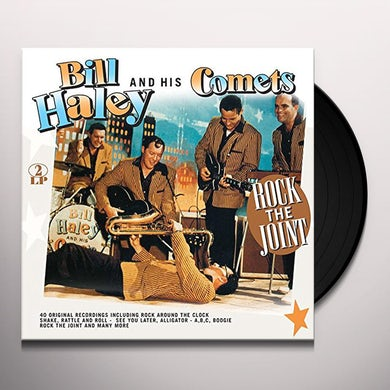 Bill Haley ROCK THE HOUSE! Vinyl Record