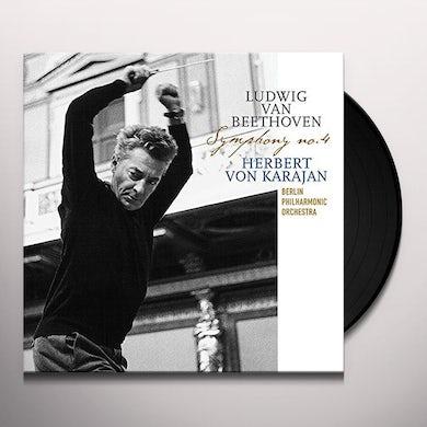 Herbert Von Karajan BEETHOVEN: SYMPHONY 4 Vinyl Record