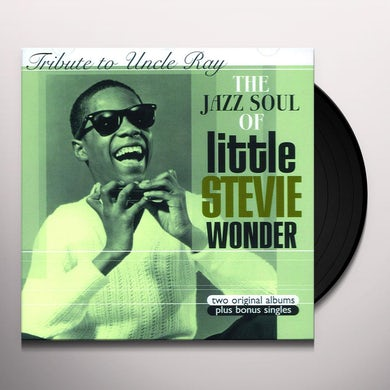 Stevie Wonder  TRIBUTE TO UNCLE RAY / JAZZ SOUL OF Vinyl Record