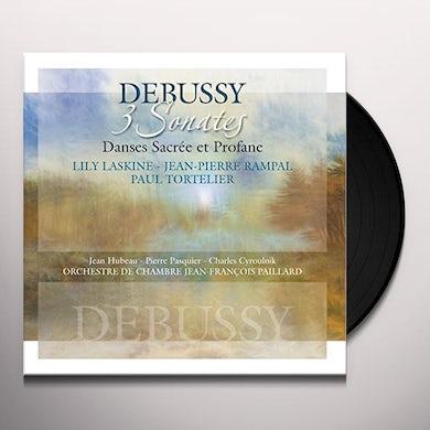 Claude Debussy 3 SONATES: DANCES SACREE ET PROFANE Vinyl Record
