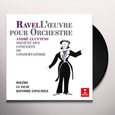 Maurice Ravel BOLERO / LA VALSE / RAPSODIE ESPAGNOLE Vinyl Record