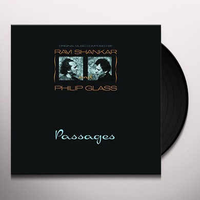Ravi Shankar PASSAGES Vinyl Record