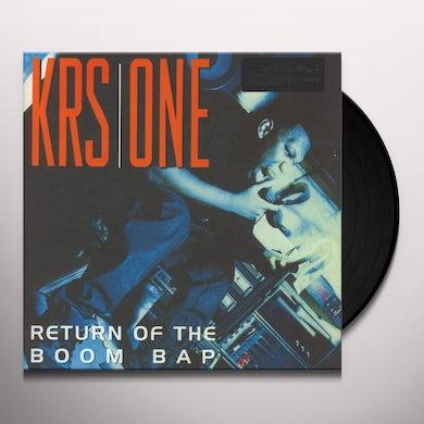 Krs-One RETURN OF THE BOOM BAP Vinyl Record
