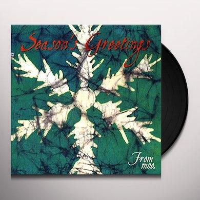 SEASON'S GREETINGS FROM MOE. Vinyl Record