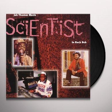 Jah Thomas MEETS SCIENTIST IN ROCK DUB CD (Vinyl)