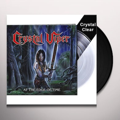 Crystal Viper At The Edge Of Time Vinyl Record