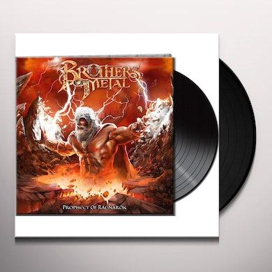 Brothers Of Metal PROPHECY OF RAGNAROK Vinyl Record