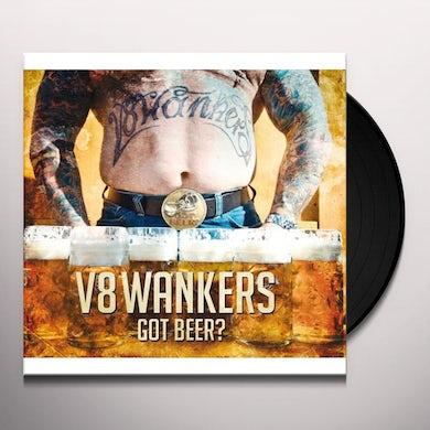 V8 Wankers GOT BEER Vinyl Record