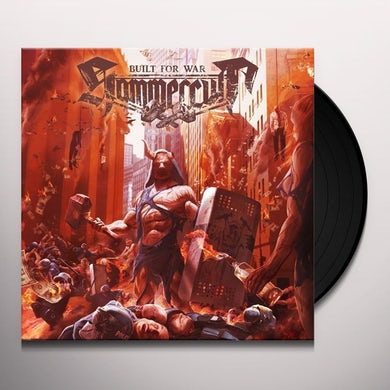 Hammercult BUILT FOR WAR Vinyl Record