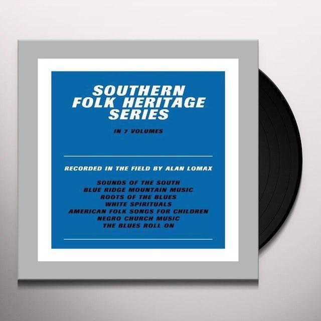 Southern Folk Heritage Series By Alan Lomax / Var