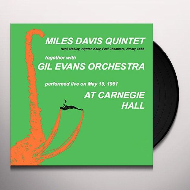 Miles Davis AT CARNEGIE HALL Vinyl Record