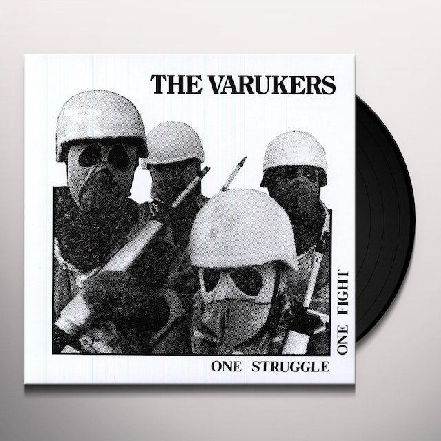 The Varukers ONE STRUGGLE ONE FIGHT Vinyl Record