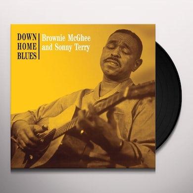 Sonny Terry / Brownie McGhee  DOWN HOME BLUES Vinyl Record
