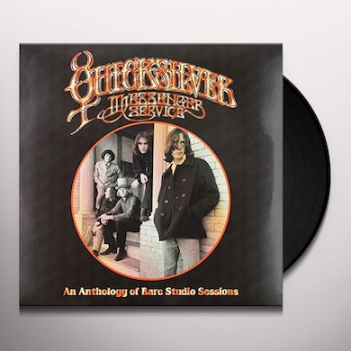 Quicksilver Messenger Service ANTHOLOGY OF RARE STUDIO SESSIONS Vinyl Record