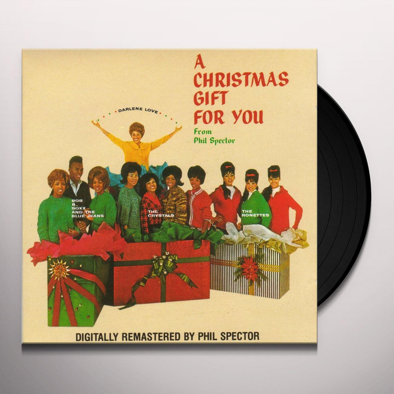 A Christmas Gift For You From Phil Spector.Phil Spector Christmas Gift For You Vinyl Record Picture Disc Uk Release