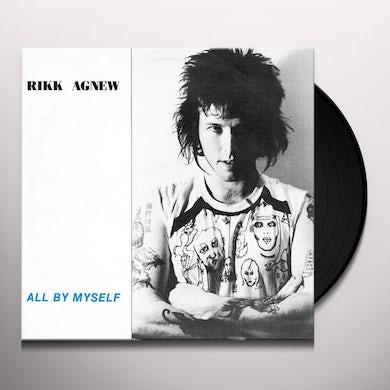 Rikk Agnew ALL BY MYSELF Vinyl Record