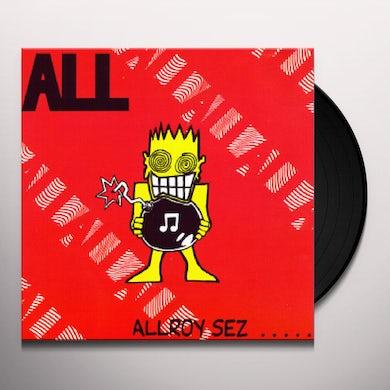 ALLROY SEZ Vinyl Record