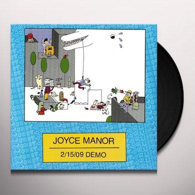 Joyce Manor 2/15/09 DEMO Vinyl Record