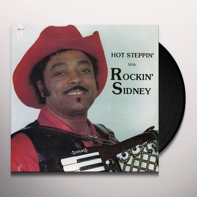 Rockin Sidney HOT STEPPIN WITH Vinyl Record