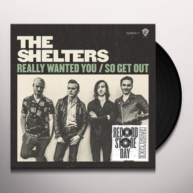 SHELTERS REALLY WANTED YOU Vinyl Record