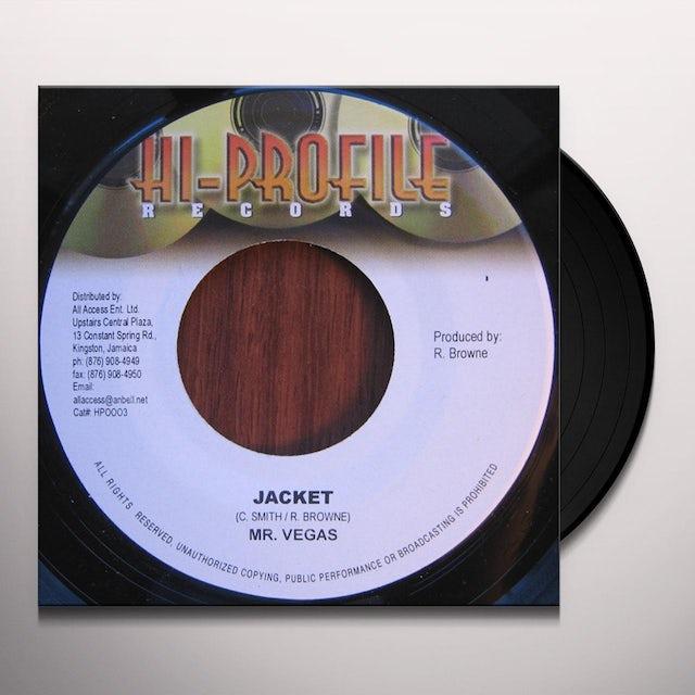 Mr. Vegas JACKET Vinyl Record