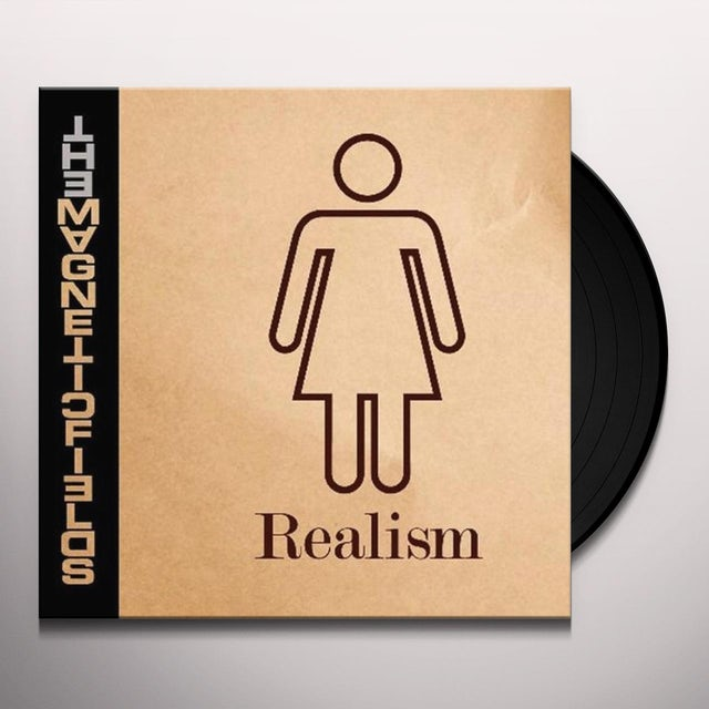 The Magnetic Fields REALISM (BONUS CD) Vinyl Record