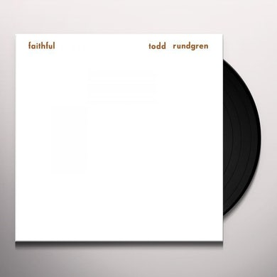Todd Rundgren Faithful (White 180 Gram) Vinyl Record
