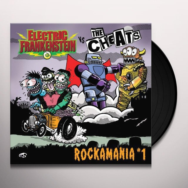 Electric Frankenstein / Cheats ROCKAMANIA 1 Vinyl Record