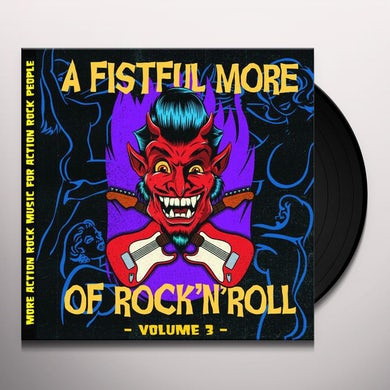 FISTFUL MORE OF ROCK N' ROLL VOL. 3 / VARIOUS Vinyl Record