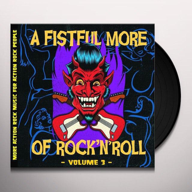 Fistful More Of Rock N' Roll Vol. 3 / Various
