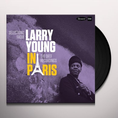 SELECTIONS FROM LARRY YOUNG IN PARIS: ORTF Vinyl Record