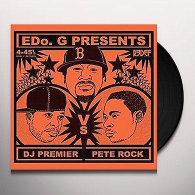 Edo G PETE ROCK VS. DJ PREMIER (4X45 SET) Vinyl Record